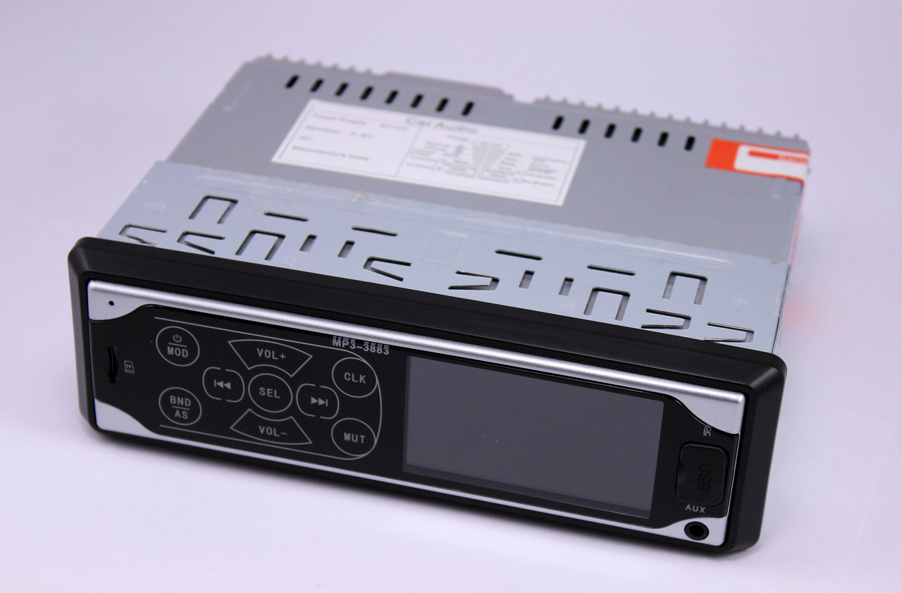 Автомагнитола MP3 3883 ISO 1DIN сенсорный дисплей MP3 Player, FM, USB, SD, AUX
