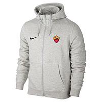 Спортивная толстовка (кофта) Рома-Найк,  Roma, Nike, с капюшоном, белая, К4456