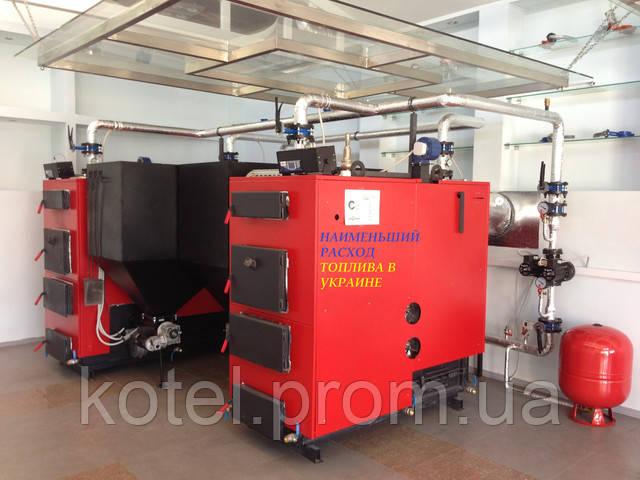 Промышленные пеллетные котлы Eurotherm WMSP