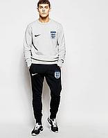 Спортивный костюм сборной Англии, England, Nike, Найк, серо-черный, К4797