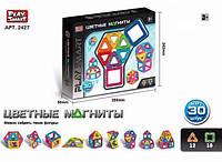 Конструктор магнитный Play Smart 30 деталей