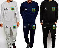 Спортивный костюм сборной Аргентины, Argentina, Adidas, Адидас, серый, синий, черный, К4902
