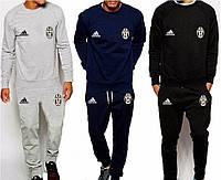 Спортивный костюм Ювентус, Juventus, Adidas, Адидас, серый, синий, черный, К4928