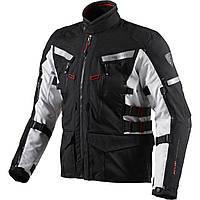 """Куртка REV'IT SAND 2 текстиль black\silver """"L"""", арт. FJT150 1170"""