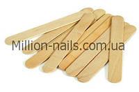 Деревянный шпатель для нанесения воска 100 шт/уп