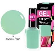 Лак для ногтей Jerden Gel Effect № 18 (summer fresh) (9мл) , фото 3