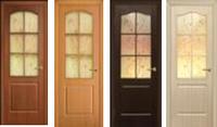 Двери межкомнатные Классика ПВХ СС+ФП