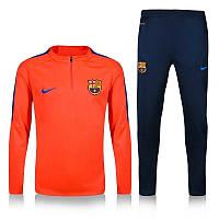 Тренировочный костюм Nike-Barcelona, Барселона, Найк, красный, зауженные штаны, 2016 - 2017,к2