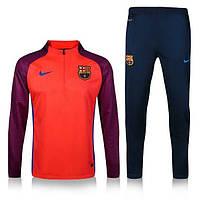 Тренировочный костюм Nike-Barcelona, Барселона, Найк, красный, 2016 - 2017, к2