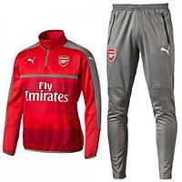 Тренировочный костюм Arsenal, Puma, Арсенал, Пума, красный, 2016 - 2017, к3