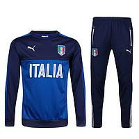 Тренировочный костюм сборной Италии, Italy, Puma, Пума, синий, 2016 - 2017, к8