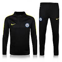 Тренировочный костюм Манчестер Сити, MC, Nike, Найк, черный, 2016 - 2017, к9