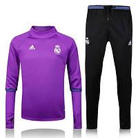 Тренировочный костюм Реал Мадрид, Real Madrid, Adidas, Адидас, Киолетовый, 2016 - 2017, к16