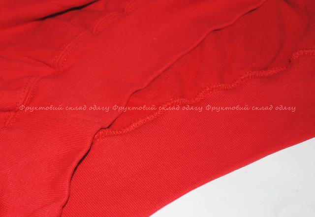 Красный мужской  классический свитер