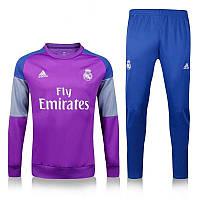 Тренировочный костюм Реал Мадрид, Real Madrid, Adidas, Адидас, модель - 2017 года, к16