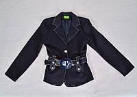Пиджак c поясом для девочки, фото 1