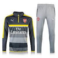 Тренировочный костюм Arsenal, Puma, Арсенал, Пума, черно-серый, 2016 - 2017, к22