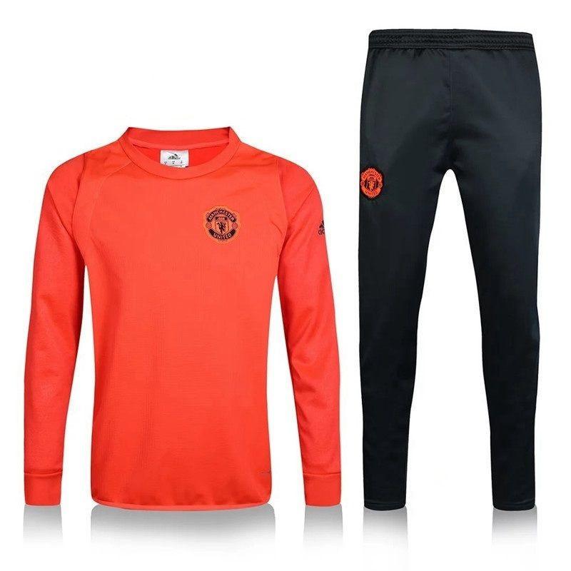 c8d16db1543c Тренировочный костюм Манчестер Юнайтед, MU, Adidas, Адидас, олимпийка  красная, штаны черные