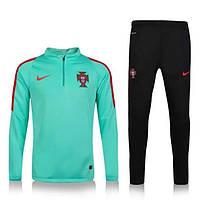 Тренировочный костюм сборной Португалии, Portugal, Nike, Найк, зеленый, салатовый, к37