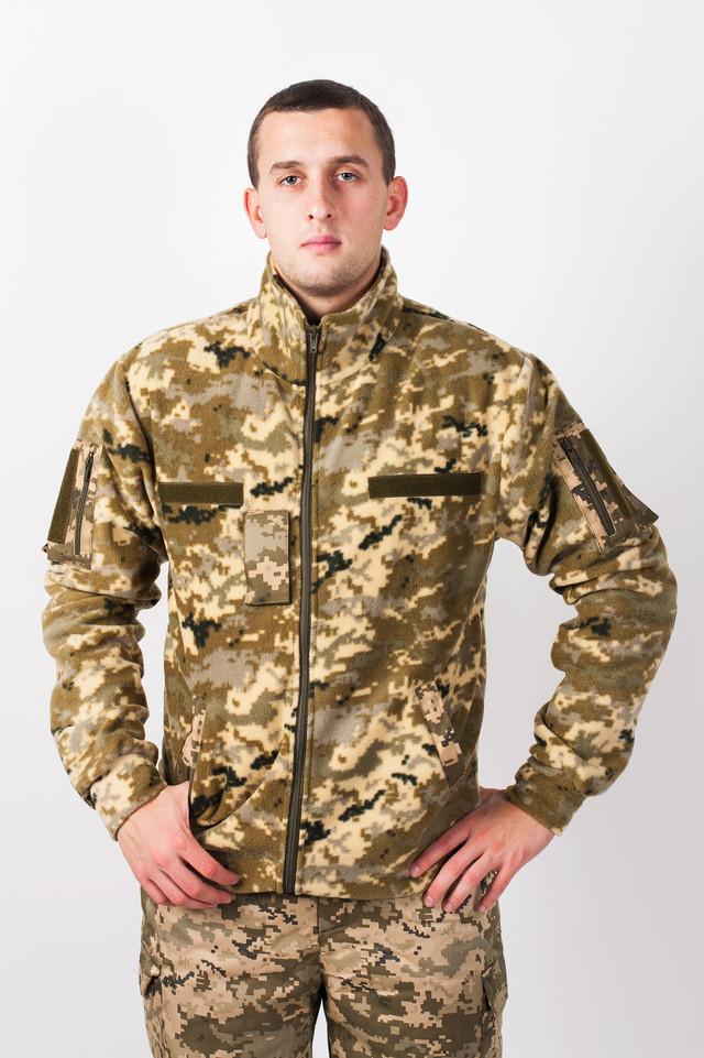 Куртка Флисовая пиксель Украина-5     - Интернет-магазин «Omoda» в Киеве