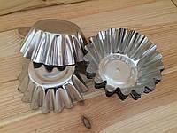 Форма металлическая кекс (10шт/уп)