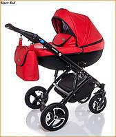 Детская коляска 2 в 1 Broco Infinity Red - красный