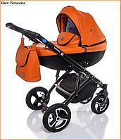 Детская коляска 2 в 1 Broco Infinity Terracotta - теракот