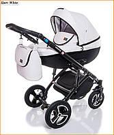 Детская коляска 2 в 1 Broco Infinity White - белый