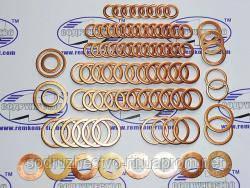 Набор медных колец для ремонта двигателя (84 шт.), ЯМЗ 236-238