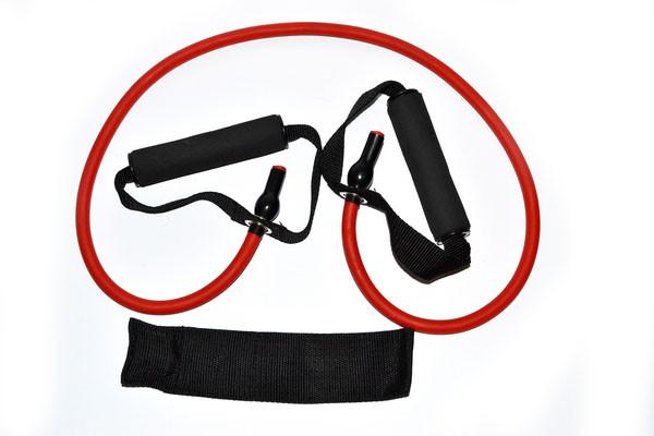 Эспандер для фитнеса с ручками 13,6кг. WX-33