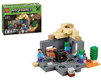 """Конструктор Bela 10390 Minecraft (Майнкрафт) """"Подземелье"""", 219 дет, фото 1"""