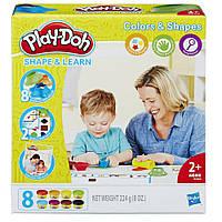 Набор с пластилином Цвета и формы Play-Doh (B3404)