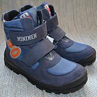 Осенние ботинки для мальчиков Minimen размер 32 33 34 36 37