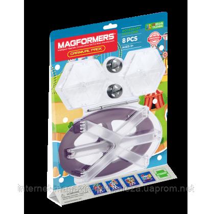 Магнитный конструктор Magformers Элементы обозревательного колеса 8 элементов, фото 2