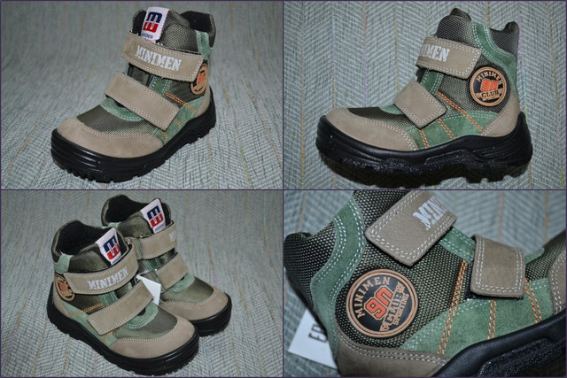 Ботинки Minimen 5008-30 Турция мальчик фото