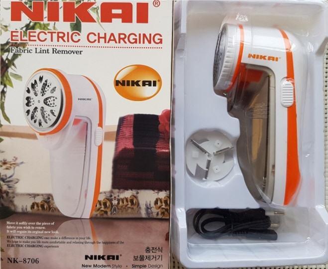 Аккумуляторная машинка для удаления катышков NIKAI NK-8706