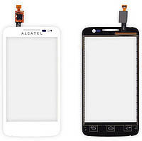 Тачскрин Alcatel 5020D One Touch M Pop Dual алькатель, цвет белый
