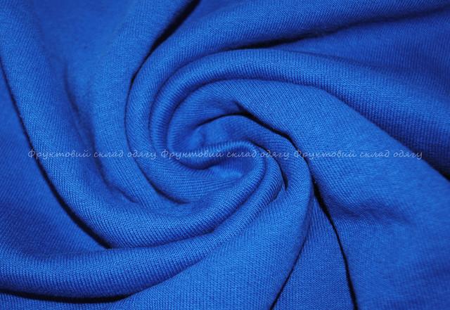 Ярко-синий  мужской  классический свитер