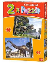 Пазли Castorland 2 в 1 Динозаври