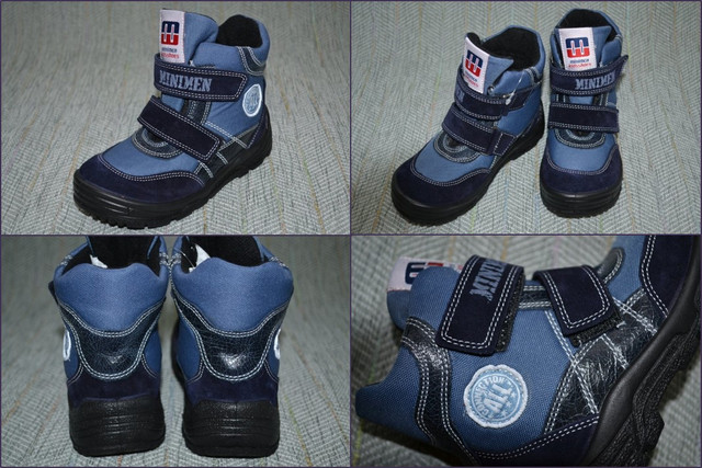 Ботинки на липучка Mininmen Турция 5008-23 фото