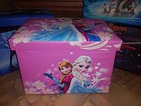 """Ящик-Органайзер- сидения для игрушек """"Холодное сердце"""""""