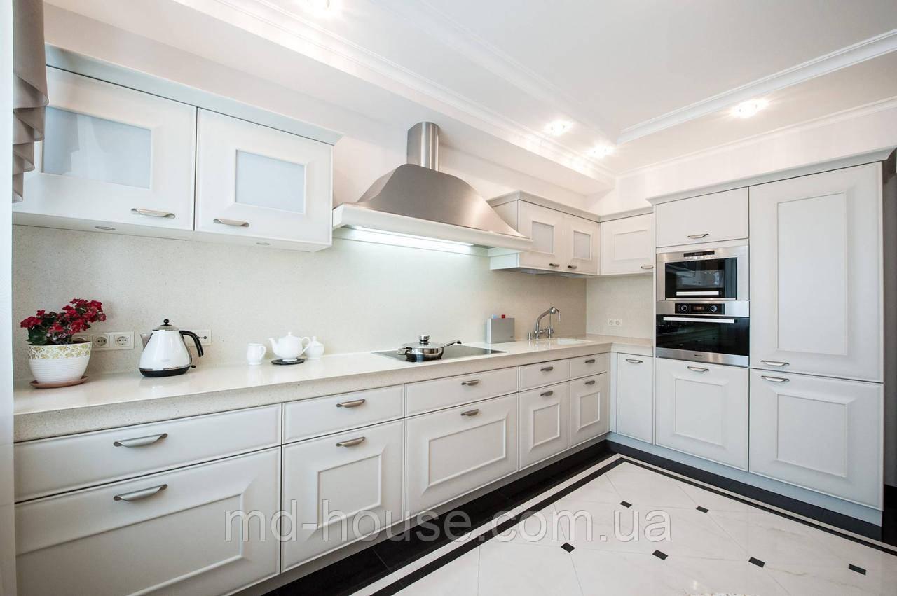 белая классическая угловая кухня цена 6 000 грнпогм купить в