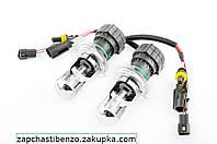Лампы биксеноновые пара   H4 12V 50W DC AMP   6000K