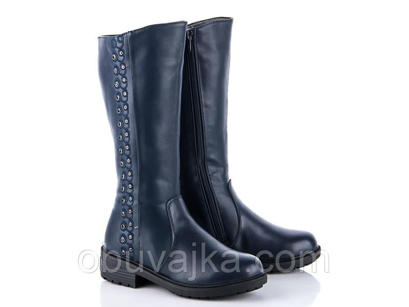 82f46588efa65 Зимняя обувь Кожаные сапоги для девочек от фирмы Солнце(33-38) - Интернет