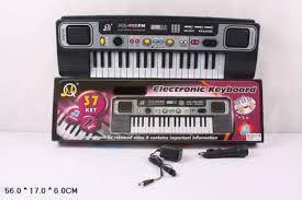 Орган MQ023FM 37 кл, микрофон, в коробке 55,5*6*17см, фото 2