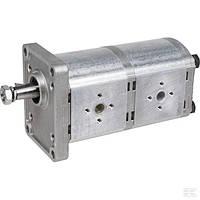 Шестеренный насос серия Polaris PLP20162016D Tandem pump PLP20.16/20.16 DO-82E2 CASAPPA, фото 1