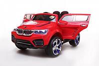 Детский электромобиль - BMW X4 - эргономичное сидение, заводится от ключа, подсветка колес