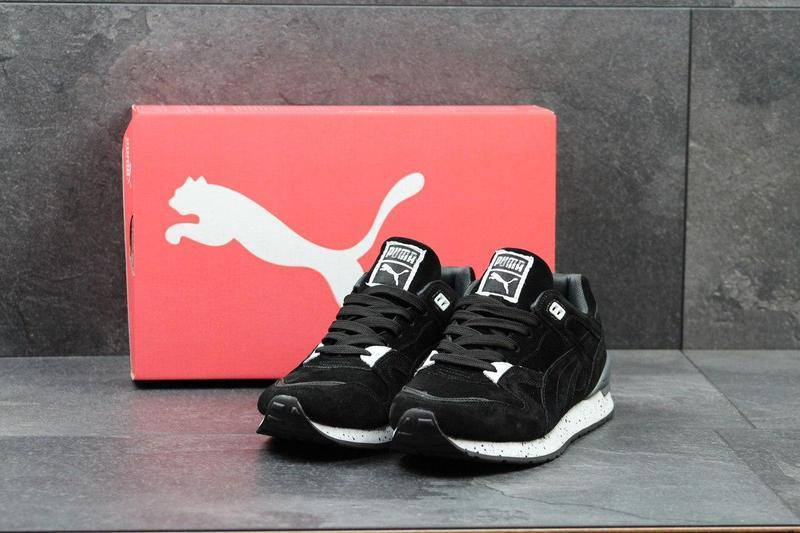76a18e443c9564 Чоловічі кросівки Puma чорні, цена 865 грн./пара, купить ...