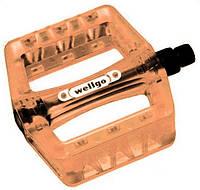 Педали пластиковые Wellgo B107P-ORN orange