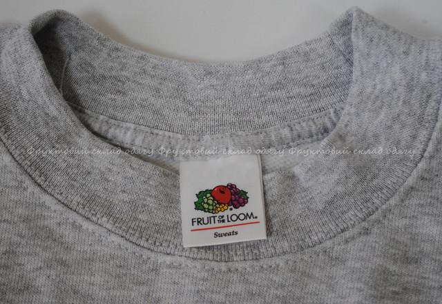 Серо-лиловый мужской  классический свитер